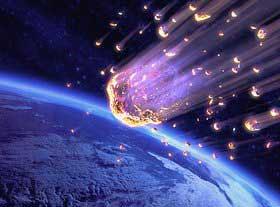 ¡Que viene el meteorito!